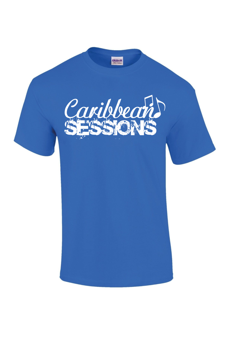 caribbean sessions t-shirt - blue