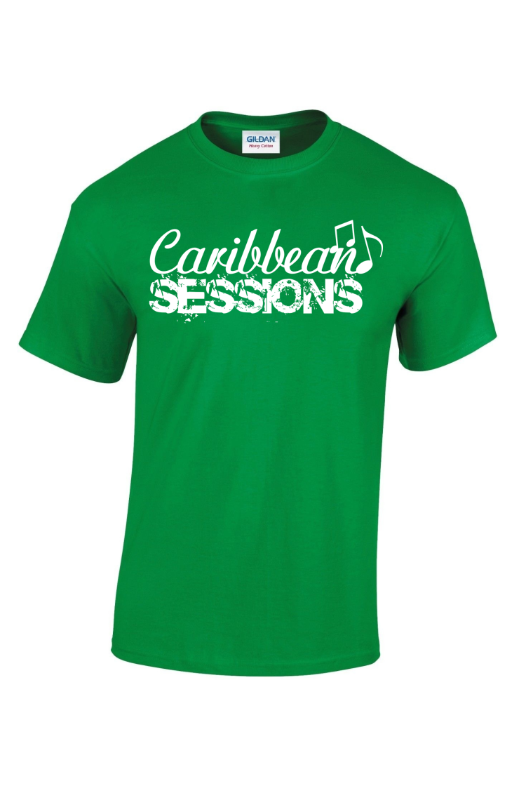 caribbean sessions t-shirt - green