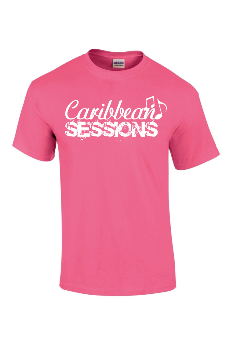 caribbean sessions t-shirt - pink