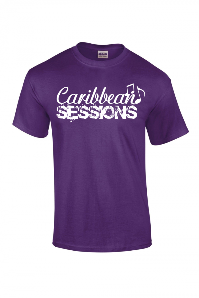caribbean sessions t-shirt - purple