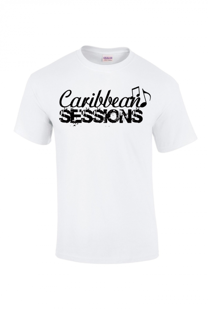 caribbean sessions t-shirt - white