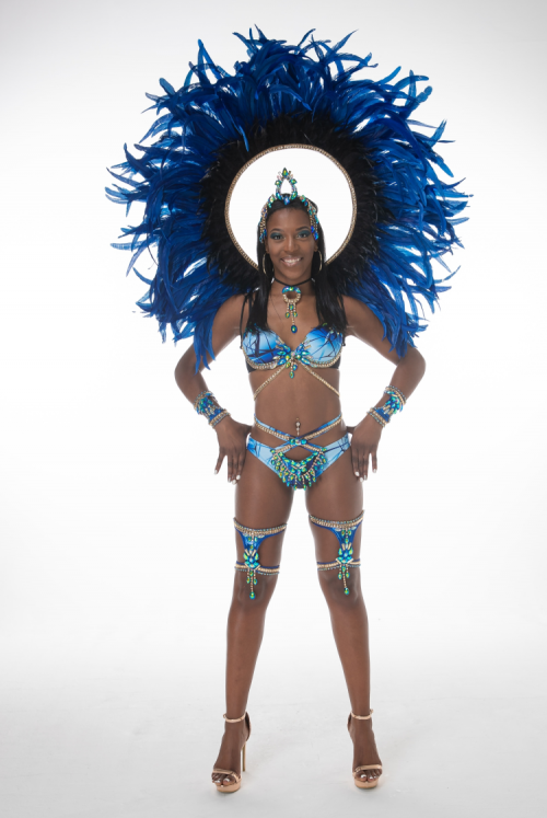 Caribbean Sessions Moon Premium Bikini With Tiara And Collar 2020