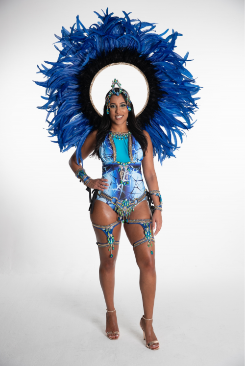 Caribbean Sessions Moon Premium Swimwear With Tiara And Collar 2020