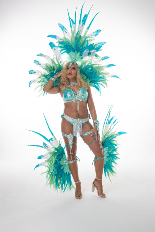 Caribbean Sessions Light Premium Bikini With Small Headpiece 2020