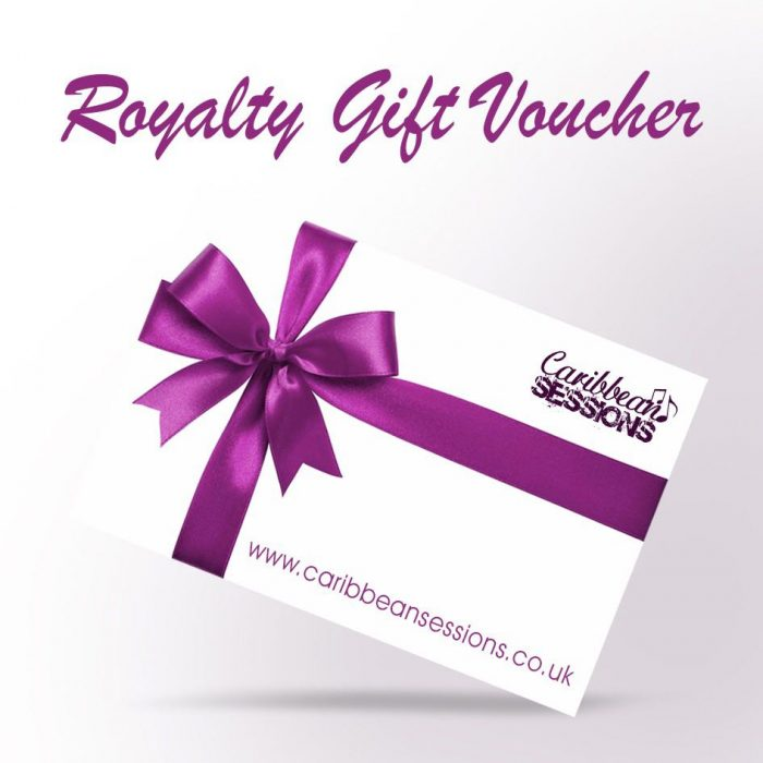 caribbean sessions gift voucher