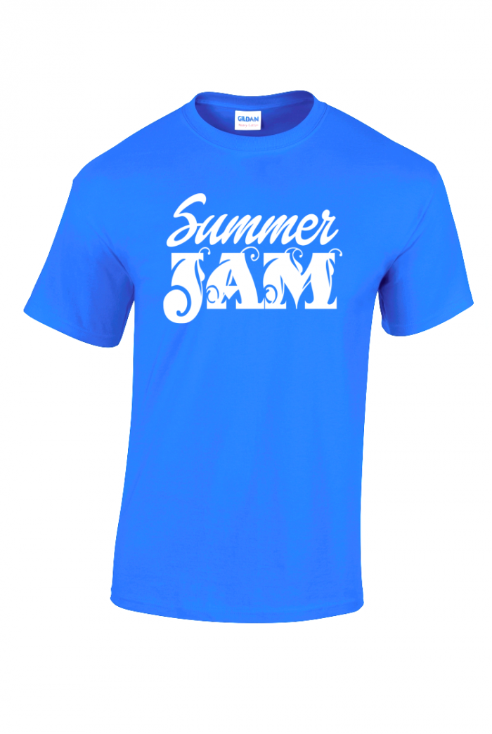caribbean sessions summer jam t-shirt - blue