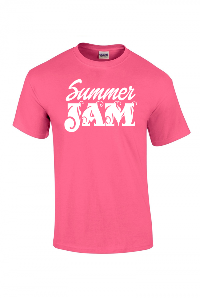 caribbean sessions summer jam t-shirt - pink