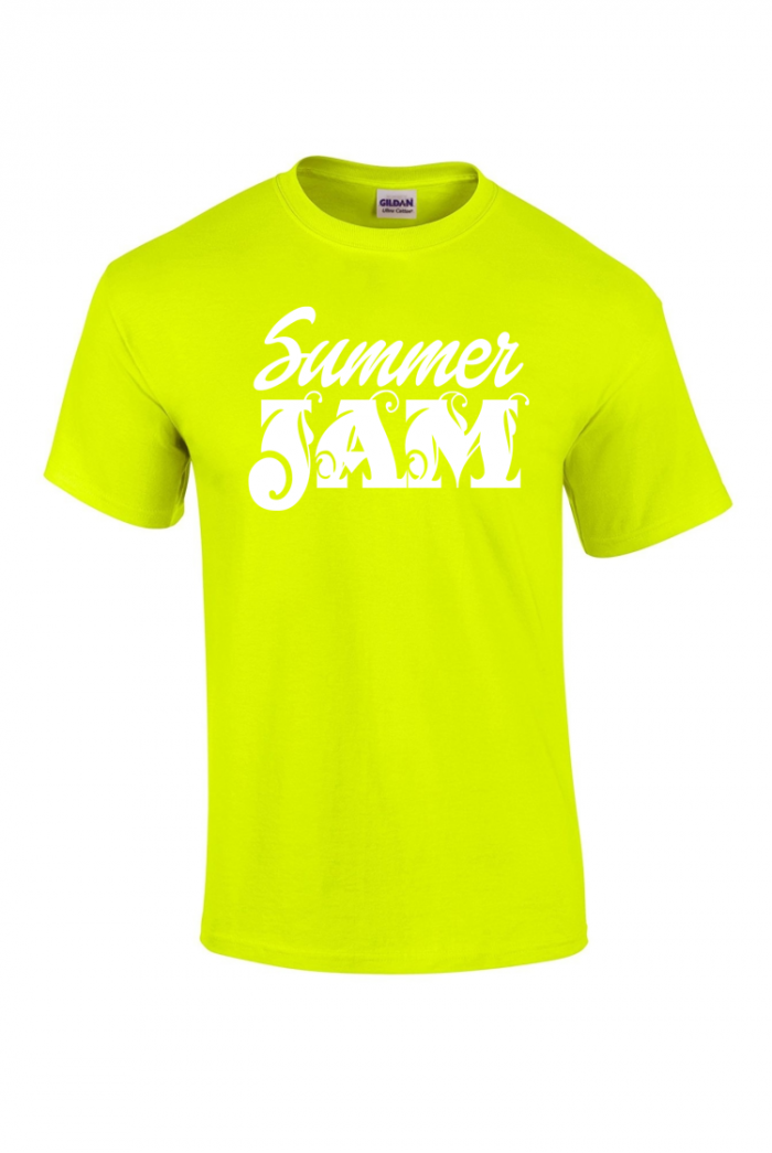 caribbean sessions summer jam t-shirt - yellow