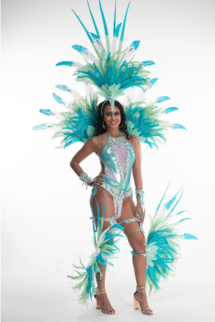 Caribbean Sessions Light Premium Swimwear With Small Headpiece 2020
