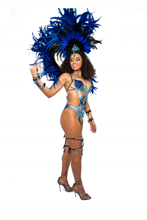 Caribbean Sessions Moon Premium Cage Bra Monokini With Medium Headpiece