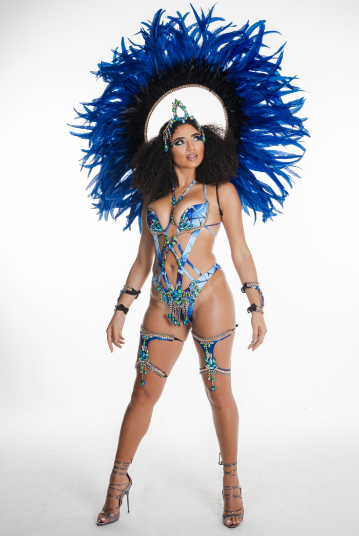Caribbean Sessions Moon Premium Cage Bra Monokini With Tiara And Collar 2020